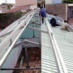 Sửa mái tôn với đội ngũ thợ sửa chữa giỏi, kinh nghiệm