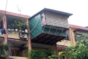 Cơi nới nhà, cải tạo nhà mở rộng diện tích nhà ở