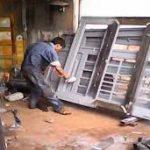 Hướng dẫn quy trình sơn cửa sắt.