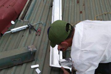 Thay thế, sửa chữa máng nước mái nhà, máng inox, máng tôn Chuyên Nghiệp