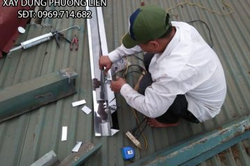 Sửa chữa mái tôn, chống dột mái tôn, thay máng nước xối uy tín, chất lượng