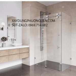 2. Vách Kính Phòng Tắm